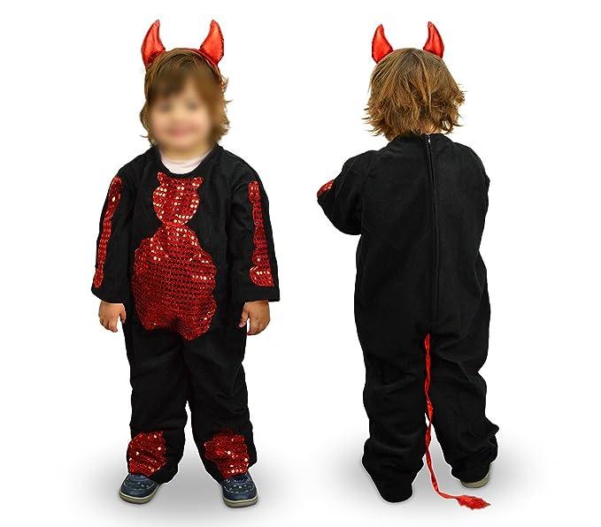 MWS 368745 Disfraz de carnaval motivo DIABLA (3 a 11 años) - 6/8 ...