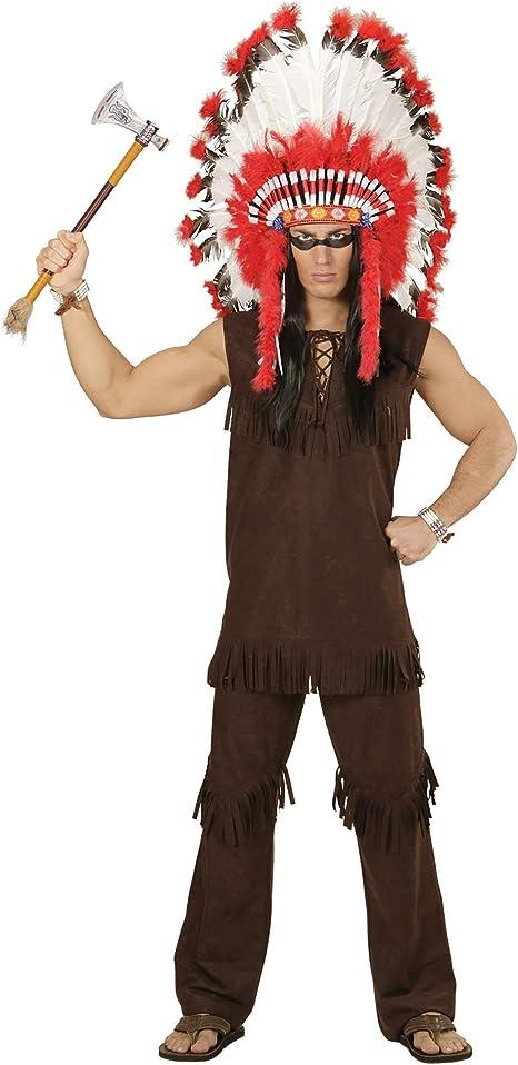 WIDMANN wdm59003 ? Disfraz indio, marrón, Large: Amazon.es ...