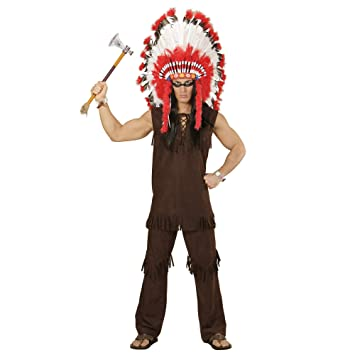 Widmann wdm59004 - Disfraz indio, marrón, XL: Amazon.es: Juguetes ...