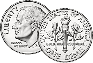 2009 P, D Roosevelt Dime 2 Coin Set Uncirculated