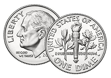 Full 1 ROLL 2020 D Roosevelt Dimes Uncirculated