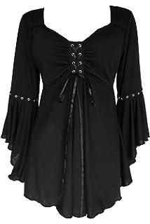 d1732e8b312 Dare to Wear Victorian Gothic Boho Women s Plus Size Ophelia Corset Top