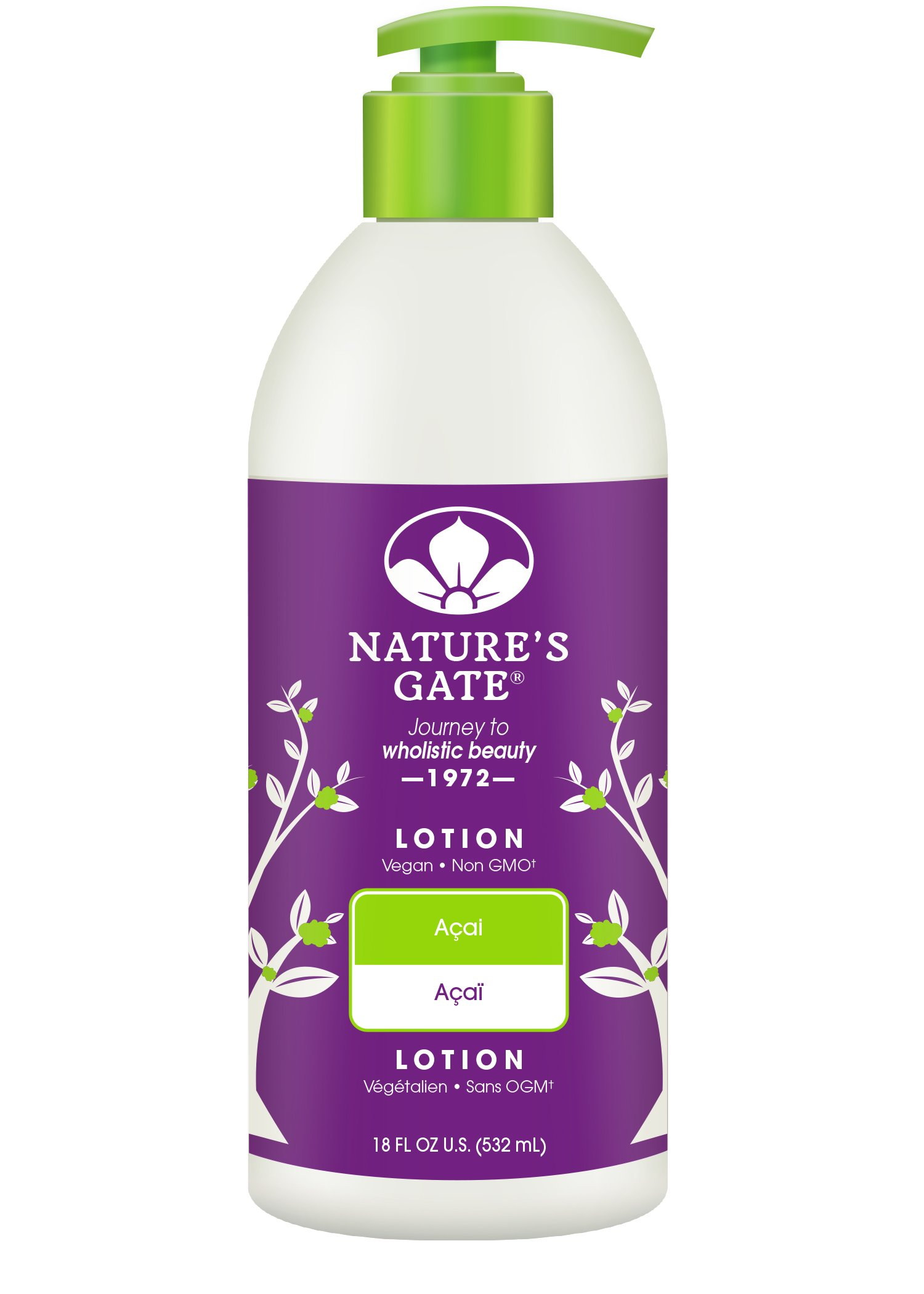 Amazon Com Nature S Gate Acai Velvet Moisture Body Wash