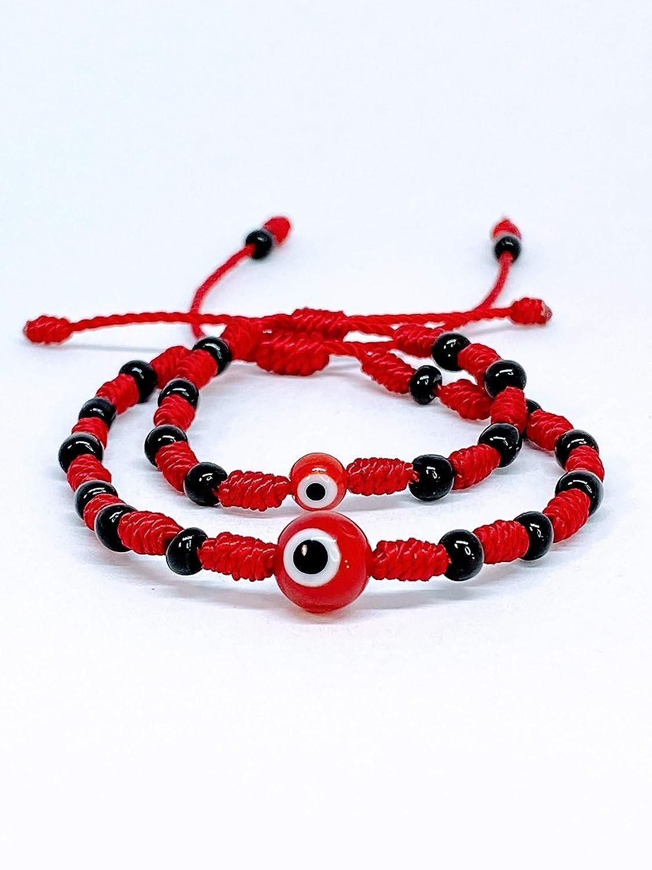 beaded bracelet bangle Red bracelet gift for mom gift Mum gift mom Chic bracelet Red Bead Crocheted bracelet Hand knit metallic bracelet