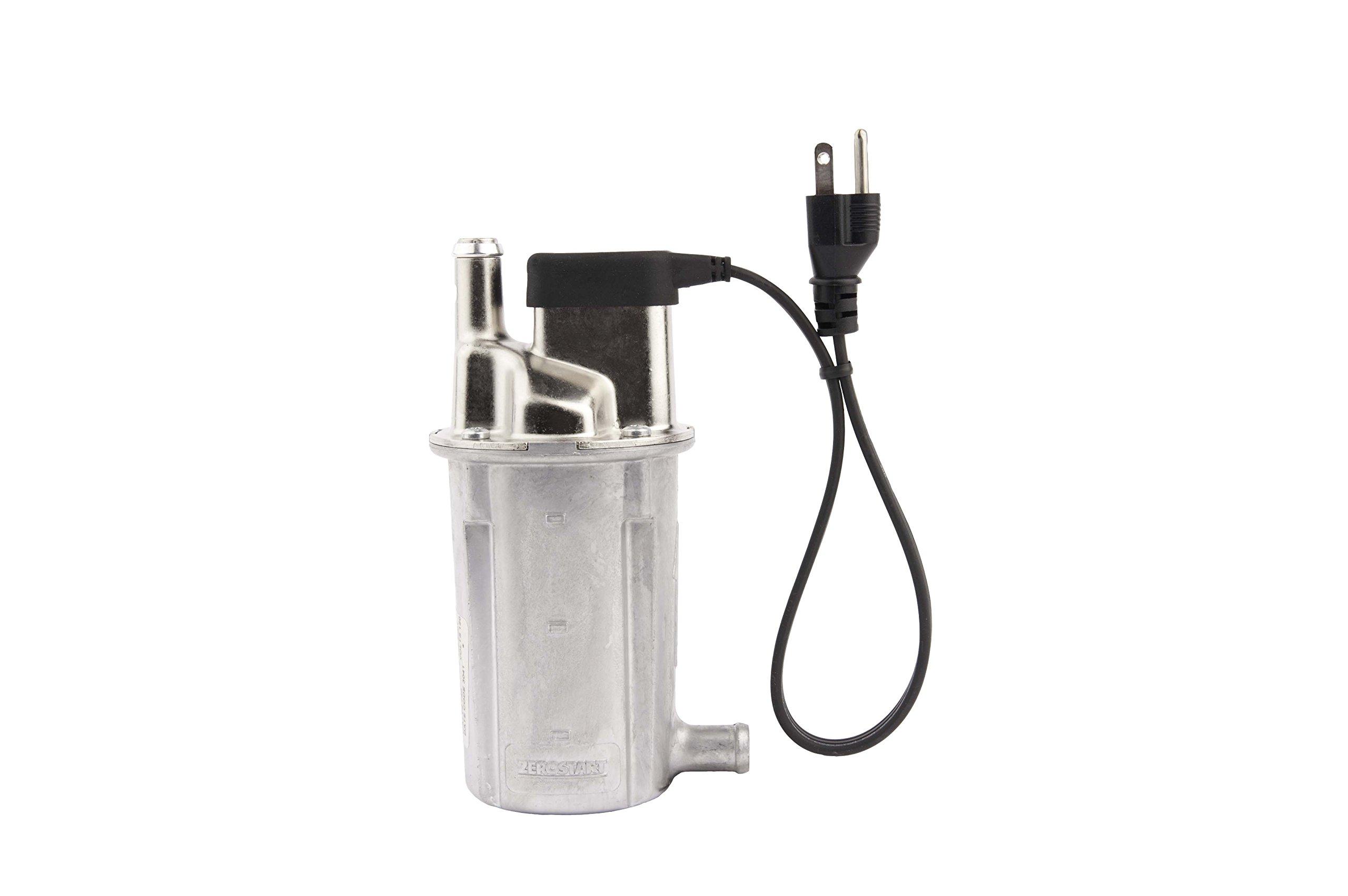 Zerostart 3308003 Series 8000 Light Duty Circulation Heater, 5/8'' Diameter Inlet/Outlet | CSA Approved | 120 Volts | 1500 Watts by Zerostart