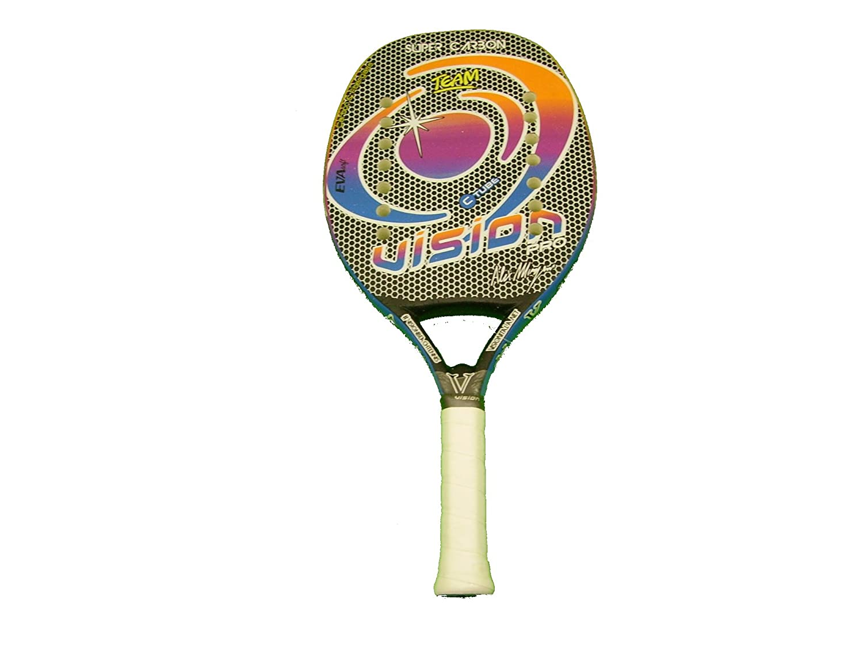 Vision Pala de Tenis Playa Super Carbon Team 2017: Amazon.es ...