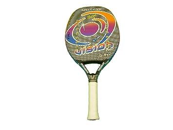 Vision Pala de Tenis Playa Super Carbon Team 2017: Amazon.es: Deportes y aire libre