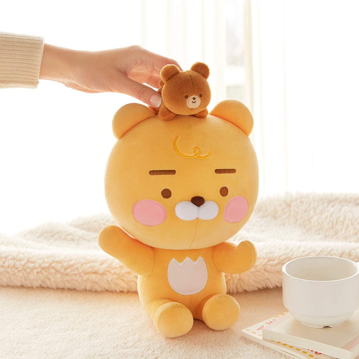 Ryan /& Bear KAKAO FRIENDS Official Baby Dreaming Lovely Stuffed Plush Toy
