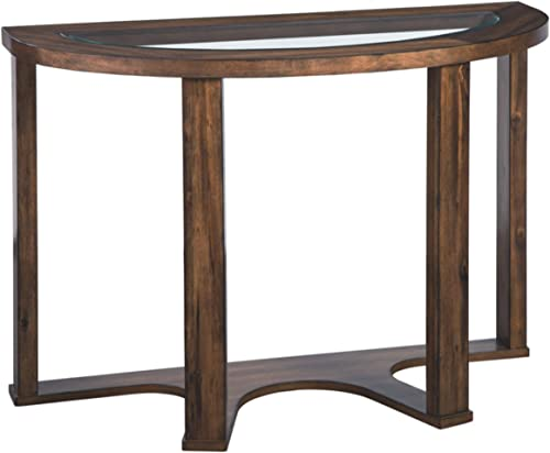 WELLAND Natural Edge Coffee Table Small, Hairpin Coffee Table, Natural Wood End Table, Wood Slab Table 28 L x 20 W x 20.5 T