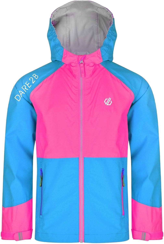 Dare 2b Affiliate Jacket - Chaqueta técnica para niño, Unisex niños, DKW397 9YRK15, Atlant/CybPk, FR : 2XL (Taille Fabricant : 14 yr)