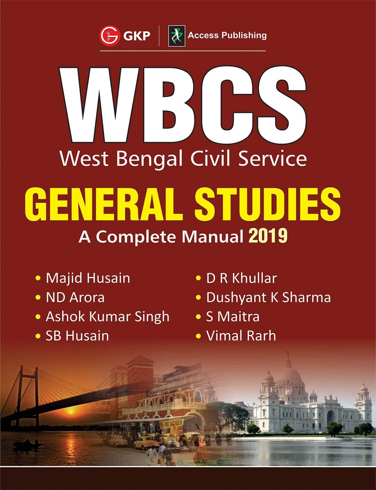 Buy WBCS General Studies - A Complete Manual (Preliminary