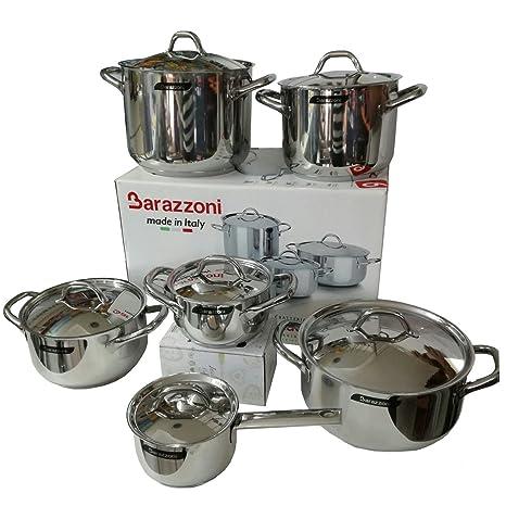 Barazzoni batteria di pentole Chef Line 12 pezzi prezzo speciale ...