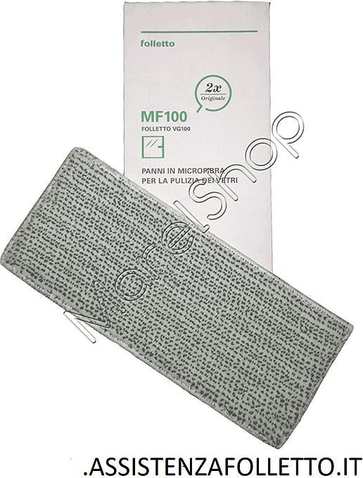 Panni MF100 per Lavavetri VG100 Vorwerk Folletto