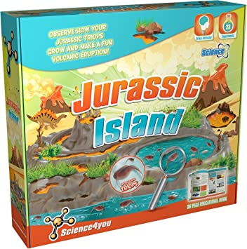 Science4you jurásico Isla Kit Educativo Juguete Ciencia Tallo ...
