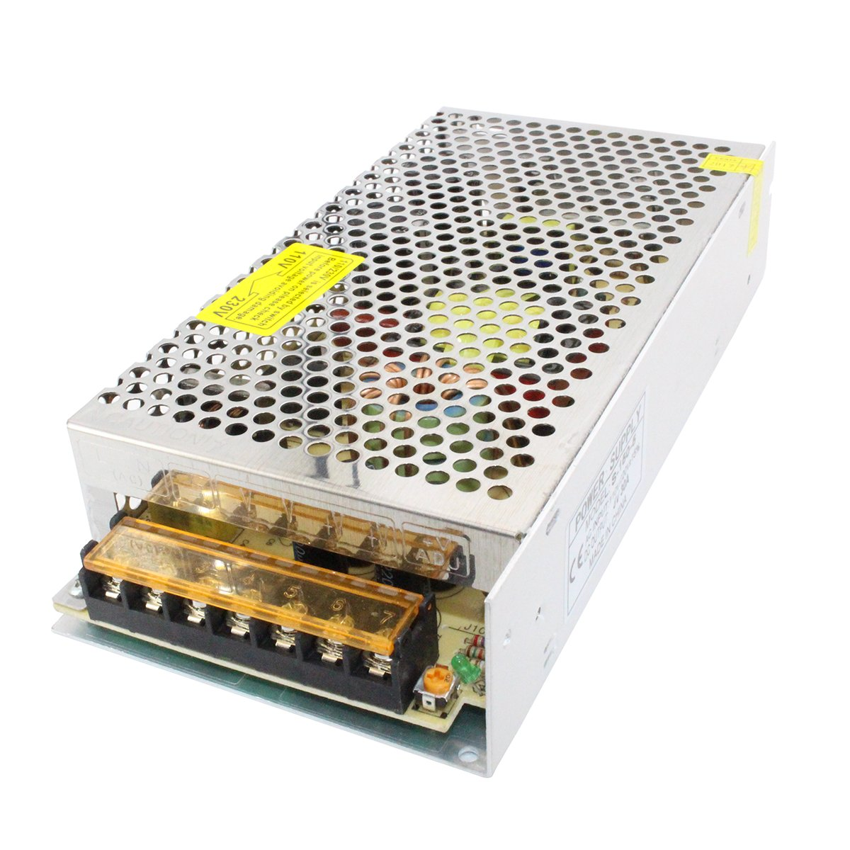 LiuTian AC 110V/220V to DC 5V 30A 150W Regulated Transformer Switching Power Supply Driver S-150-5 for LED Strip Light, CCTV, Radio, Computer Project
