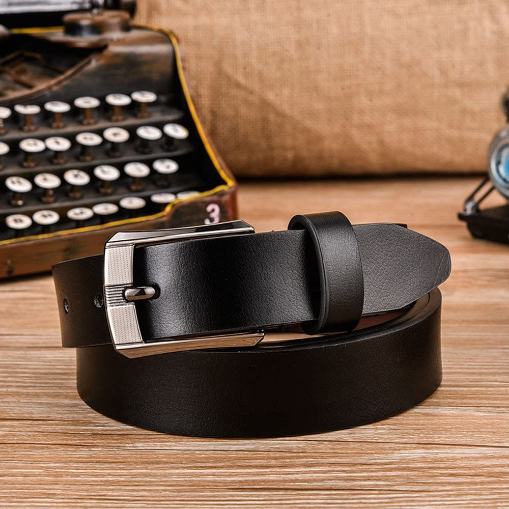 Irene Mens Belts Top Quality Convenient Brief Leather Strap Pure Comfortable Color