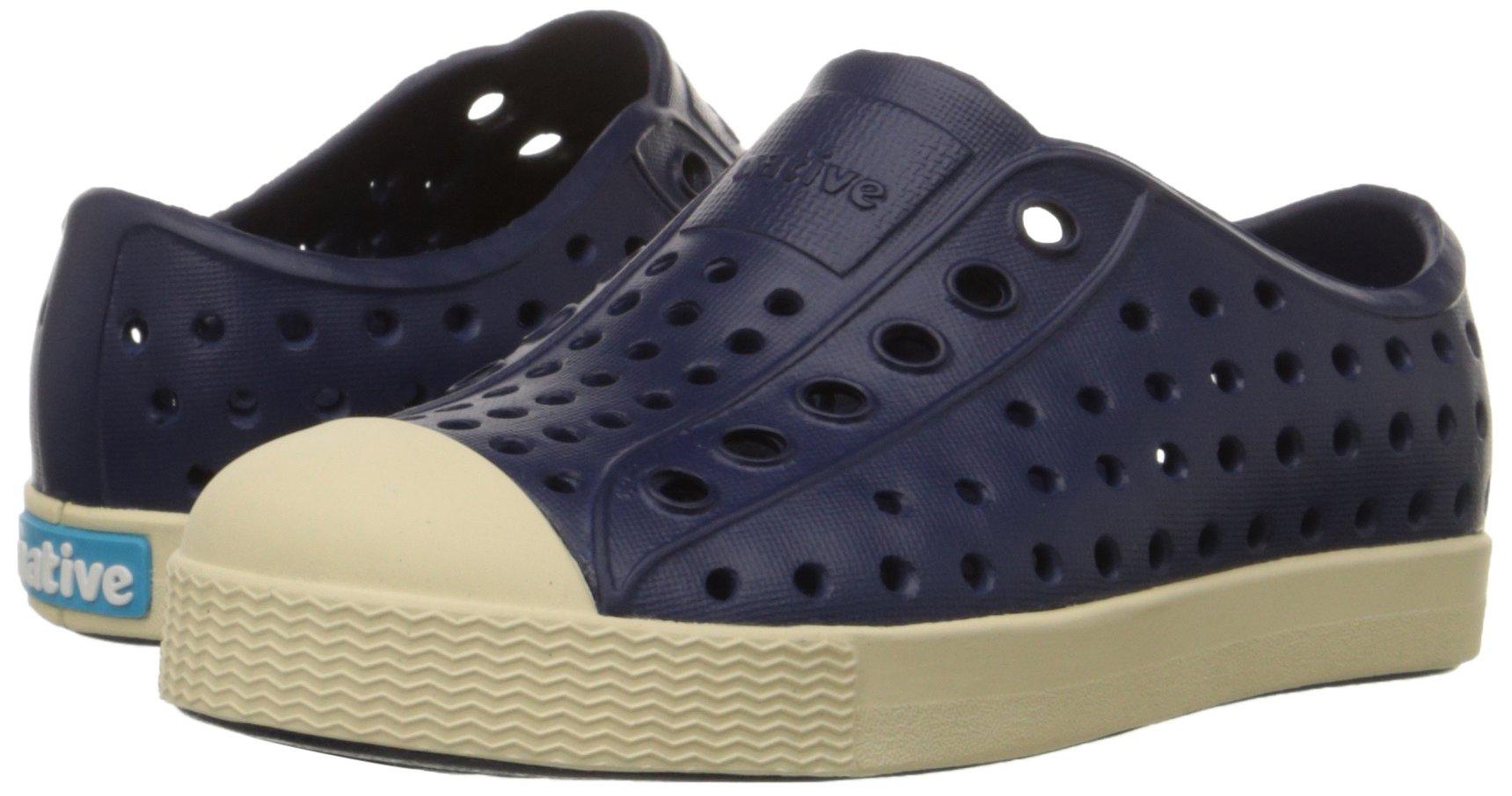 Native Jefferson Slip-On Sneaker,Regatta Blue,10 M US Toddler by Native Shoes (Image #6)
