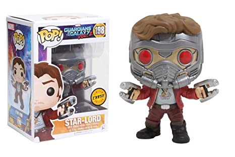 2 Star-Lord with Helmet Chase Variant Vinyl Bobble