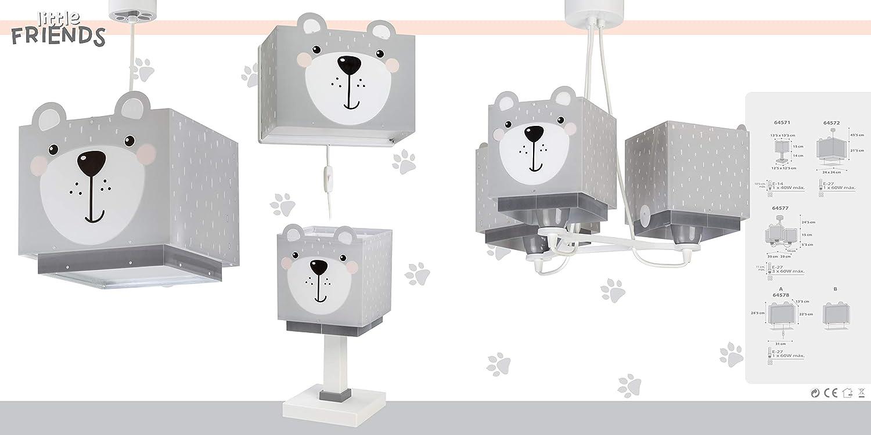 Kinderlampe Wandleuchte Little Teddy B/är Tiere Dalber kinder Wandlampe