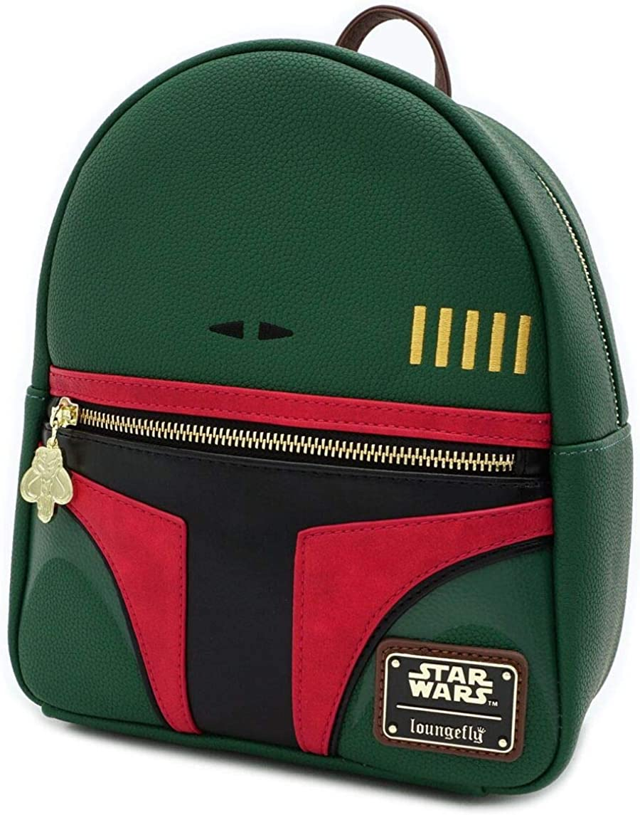 Loungefly Star Wars Boba Fett Faux Leather Mini Backpack