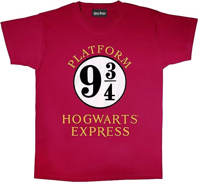Harry Potter expreso de Hogwarts Novio Camiseta Apta de Las Mujeres | mercancía Oficial: Amazon.es: Ropa y accesorios