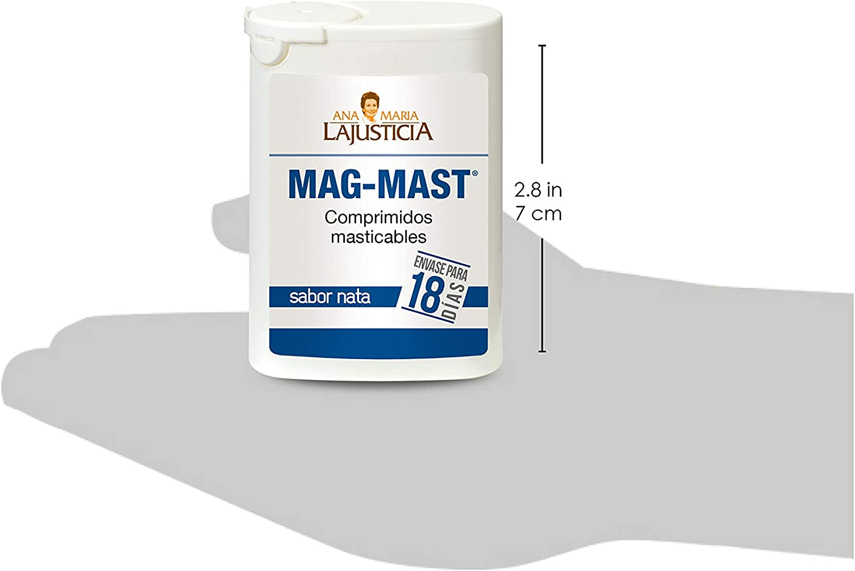 Ana Maria Lajusticia - Magnesio masticable – 36 comprimidos reduce ...