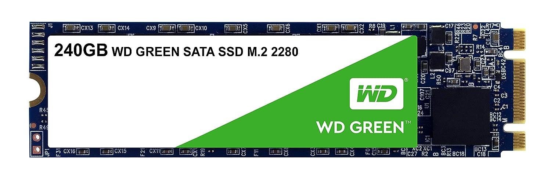Western Digital SSD WDS240G2G0B 240GB M.2 2280 SATA 6Gb s WD Green Retail 205149