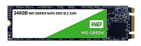 Western Digital SSD WDS240G2G0B 240GB M.2 2280 SATA 6Gb s WD Green Retail Internal Solid State Drives at amazon
