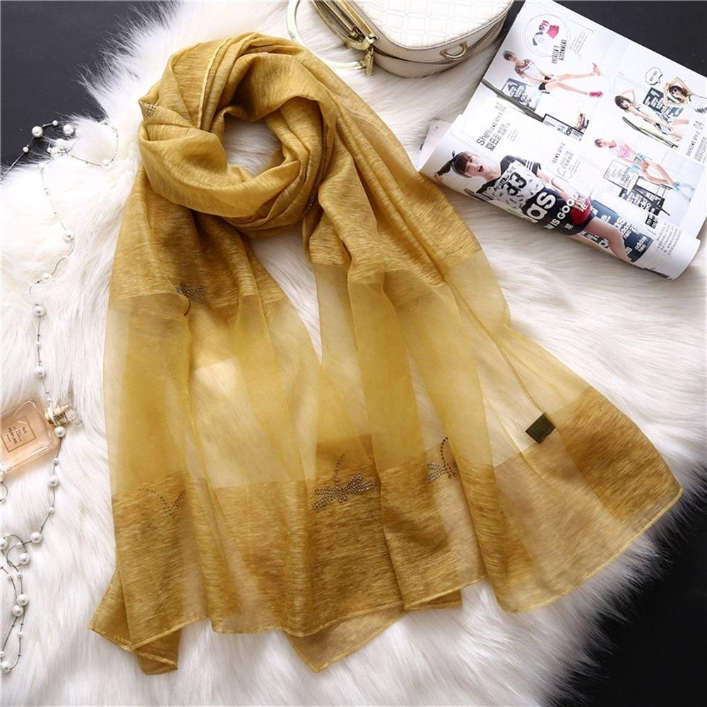 Dianyejiancai Simple Design Women Scarf Solid Color Shawls (Color : 9) by Dianyejiancai