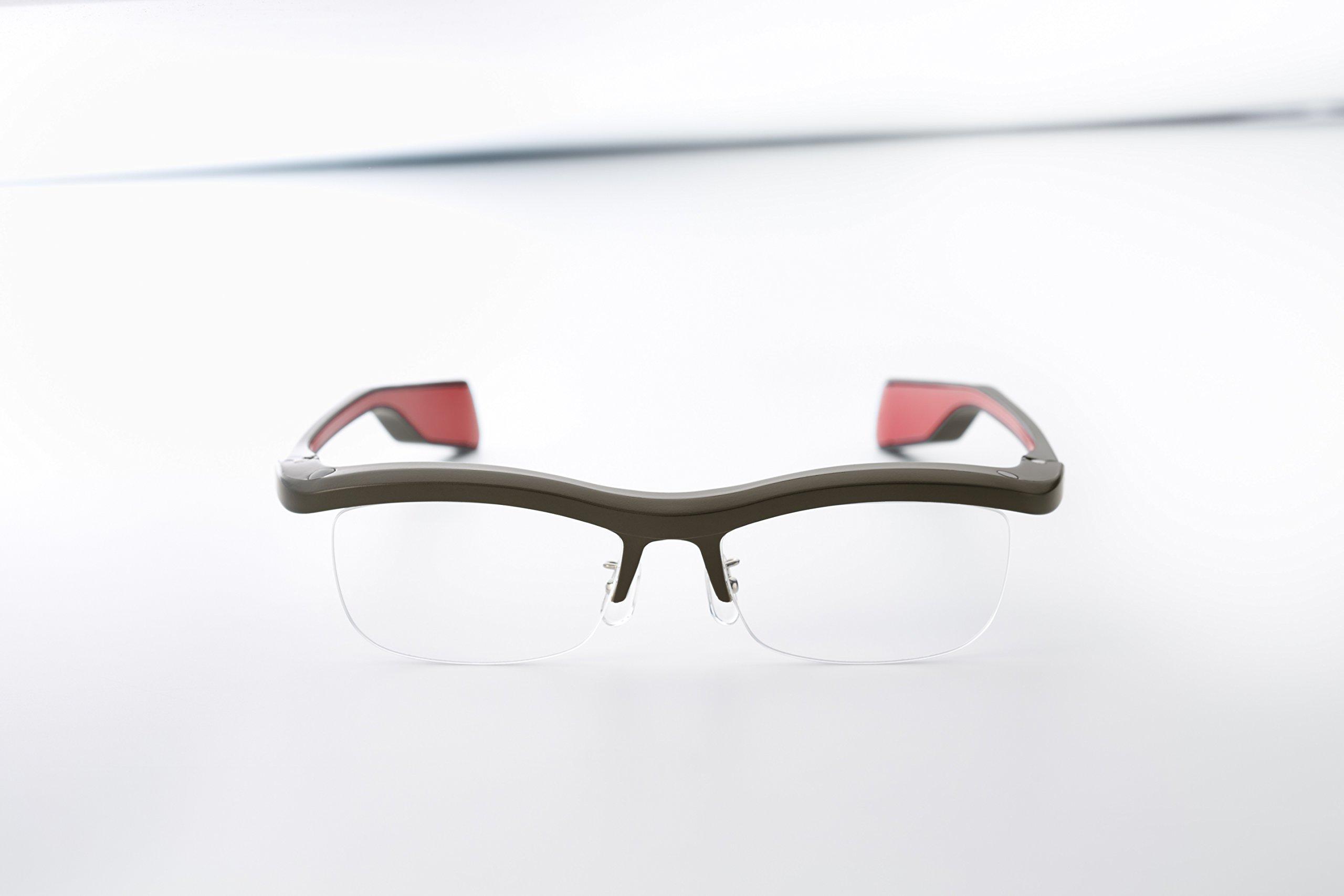 FUN'IKI Glasses (Gray/Red)