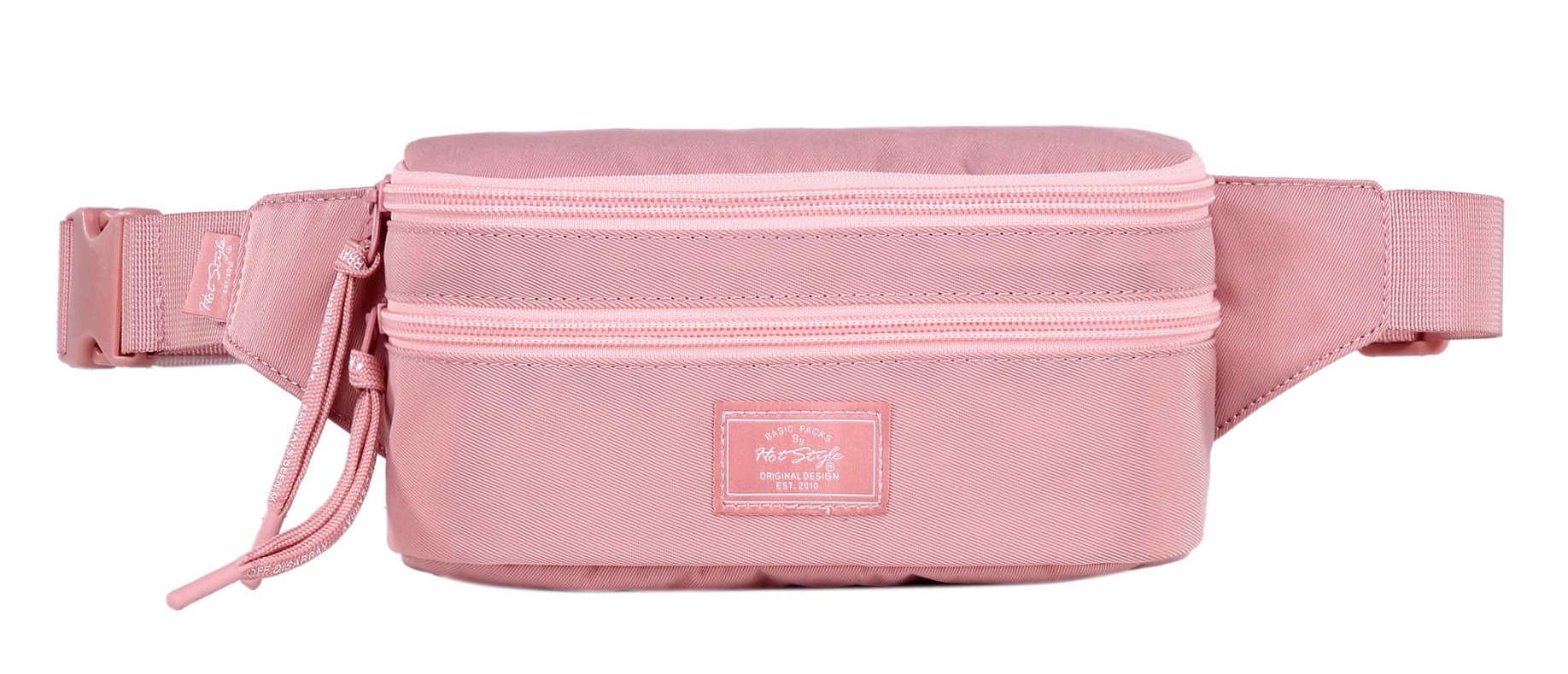 521s Fashion Waist Bag Cute Fanny Pack | 8.0''x2.5''x4.3'' | Millennial Pink