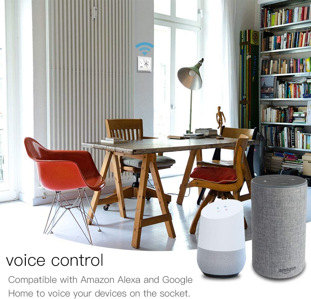 compatible avec lapplication Smart Life//Tuya et les syst/èmes Alexa et Google Home MoesGo Thermostat intelligent avec fonction WiFi Noir pour contr/ôle de syst/èmes de chauffe eau /à gaz