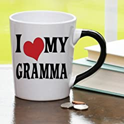 I Heart My Gramma, Gramma Coffee Cup, Gramma Funny Mug, Gramma Gifts By Tumbleweed