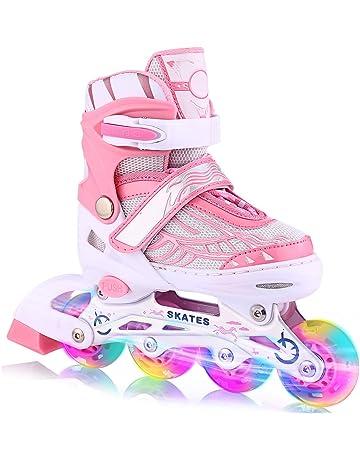 ANCHEER Inline Skates Kids Roller Skates for Women Girls Quad Skate  Adjustable Boys Kid Toddlers Youth f82839dc99