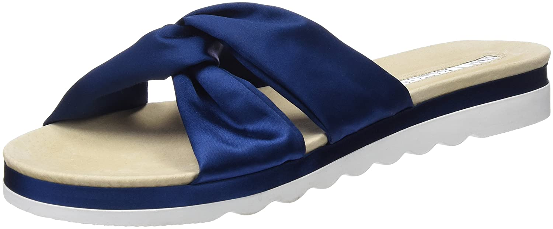 Mariamare Diamond, Sandales Bout Ouvert Femme, Bleu (Satin 2 Cobalto), 40 EUMaria Mare