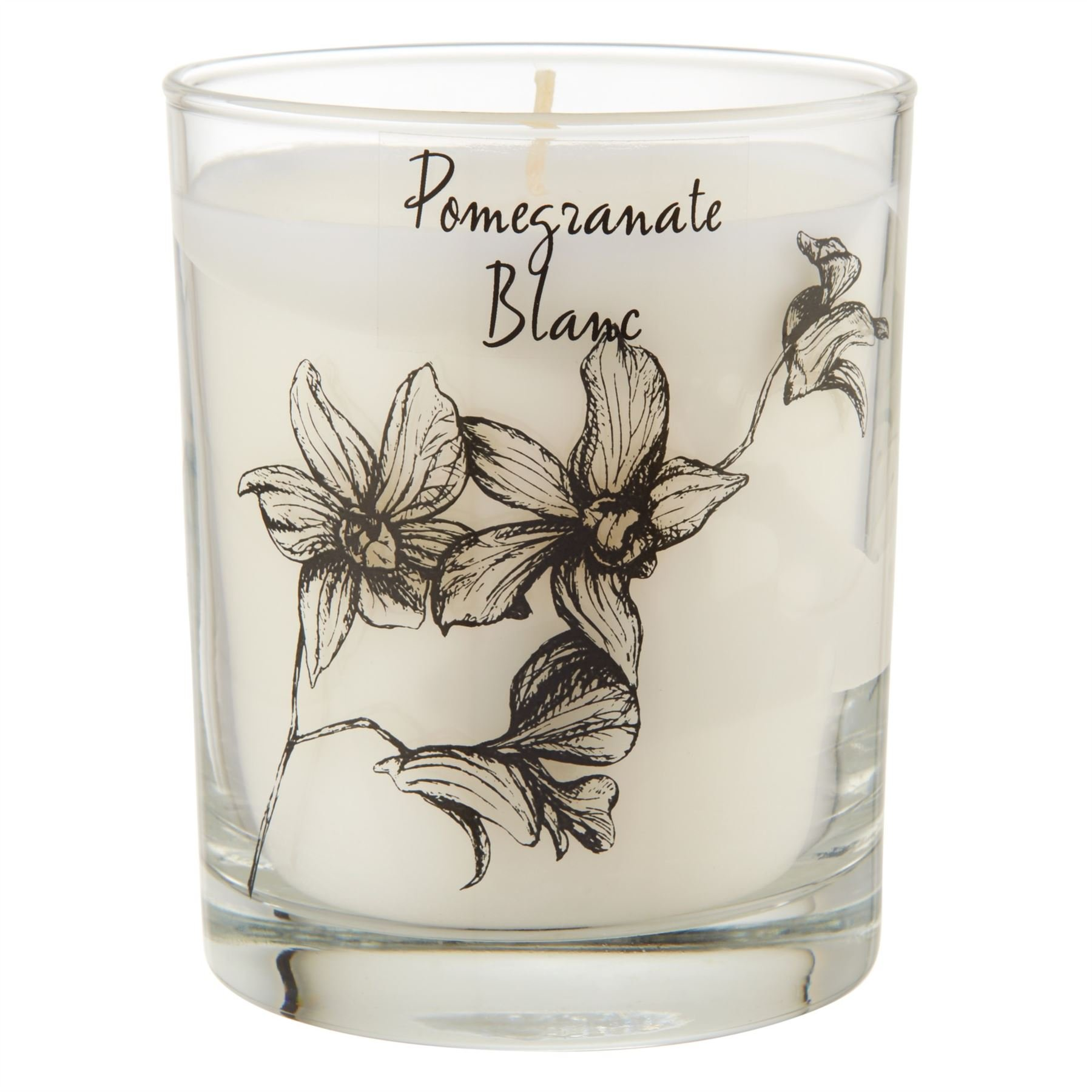 Stoneglow Scented Candle in a Jar Pomegranate - Pack of 6