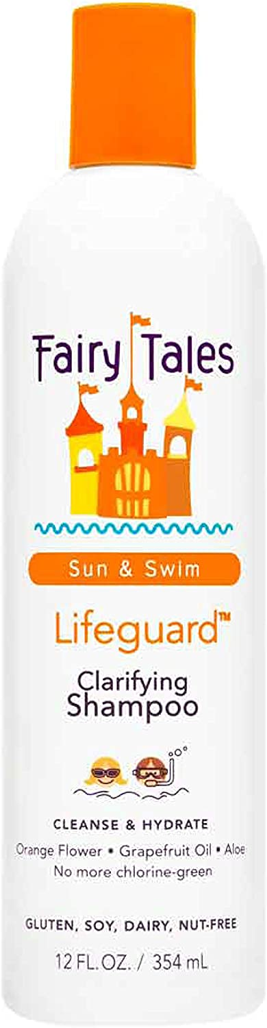 Fairy Tales Sun & Swim Lifeguard Clarifying Shampoo - Daily Kid Summer Shampoo