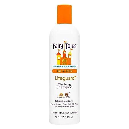 Fairy Tales Sun & Swim Lifeguard Clarifying Shampoo   Daily Kid Summer Shampoo   12 Oz by Fairy Tales