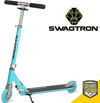 Amazon.com: Swagtron K1 - Patinete para niña o niño con 2 ...