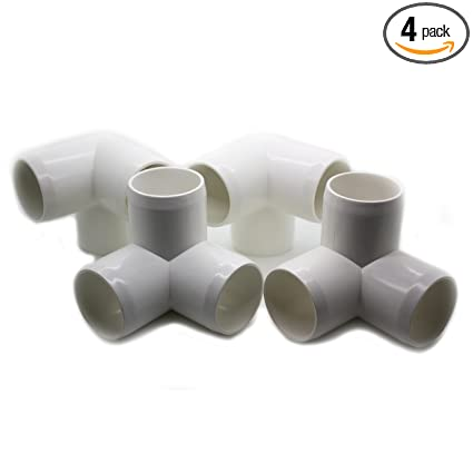 Amazoncom 3 Way Tee Pvc Fitting Build Heavy Duty Pvc Furniture
