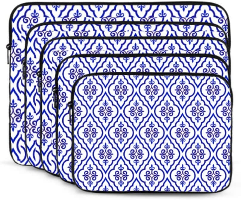 MacBook Air Protective Case Ancient Chinese Blue and White Porcelain MacBook 15 Cover Multi-Color /& Size Choices/10//12//13//15//17 Inch Computer Tablet Briefcase Carrying Bag