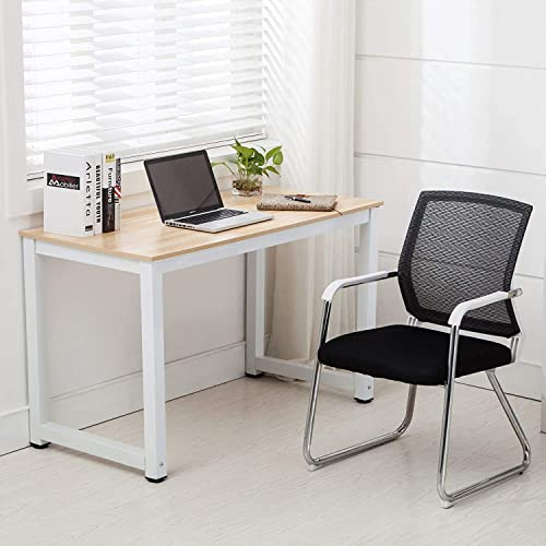 Mecor 43 Large MDF Computer Desk PC Laptop Table Study Work-Station Home Office Furniture Wood