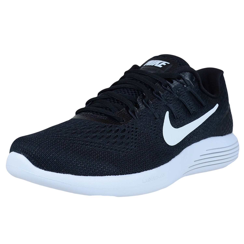 Noir blanc Anthracite Nike Lunarglide 8, Chaussures de Course Homme 39 EU