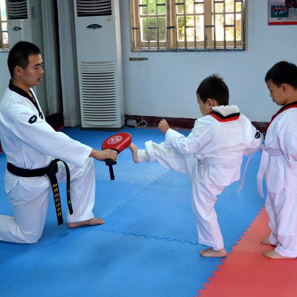 1Paire Raqettes Doubles de Taekwondo Pad de Target Raquette de Frappe pour lentra/înement de Tae Boxe Karat/é