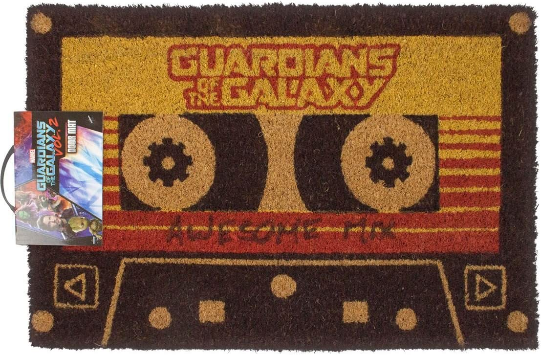 Official Batman Welcome to The Bat Cave Door Mat Guardians of the Galaxy Vol 2 Awesome Mix Tape