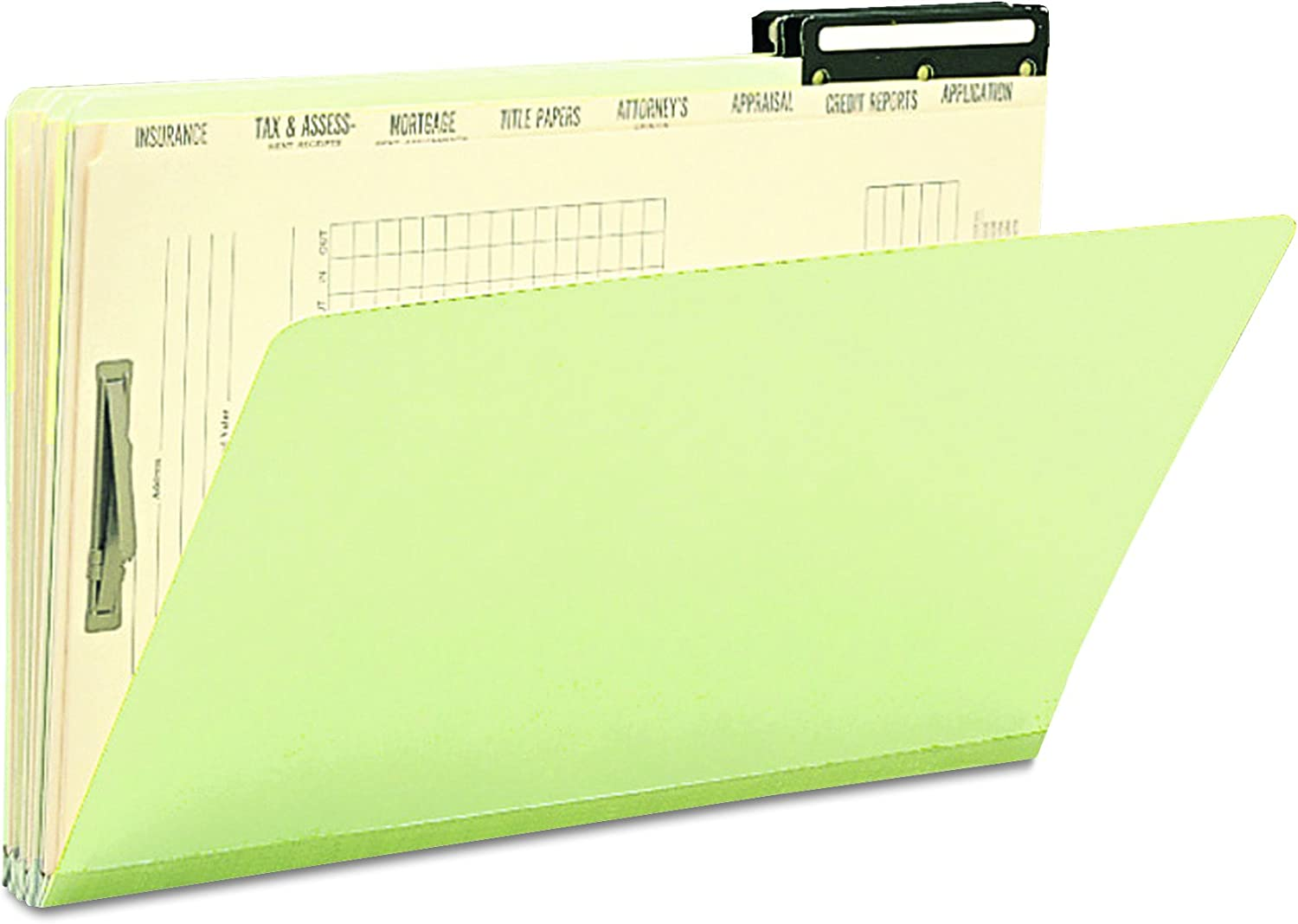 Smead Mortgage Folder Printed Replacement Divider Sets Manila 14-3//8 x 9-Inches 78278 12 Sets per Box