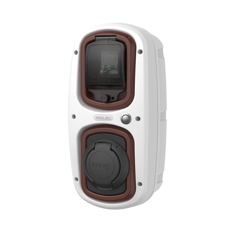 Black//Blue Affordable 32 Amp Type 2 Socket Easy EV EV//Electric car EV OneStop Simple WallPod Charging Unit Colour