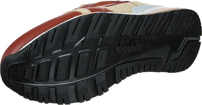 Diadora Scarpe Uomo N9000 Premium camoscio e Pelle bourdeaux