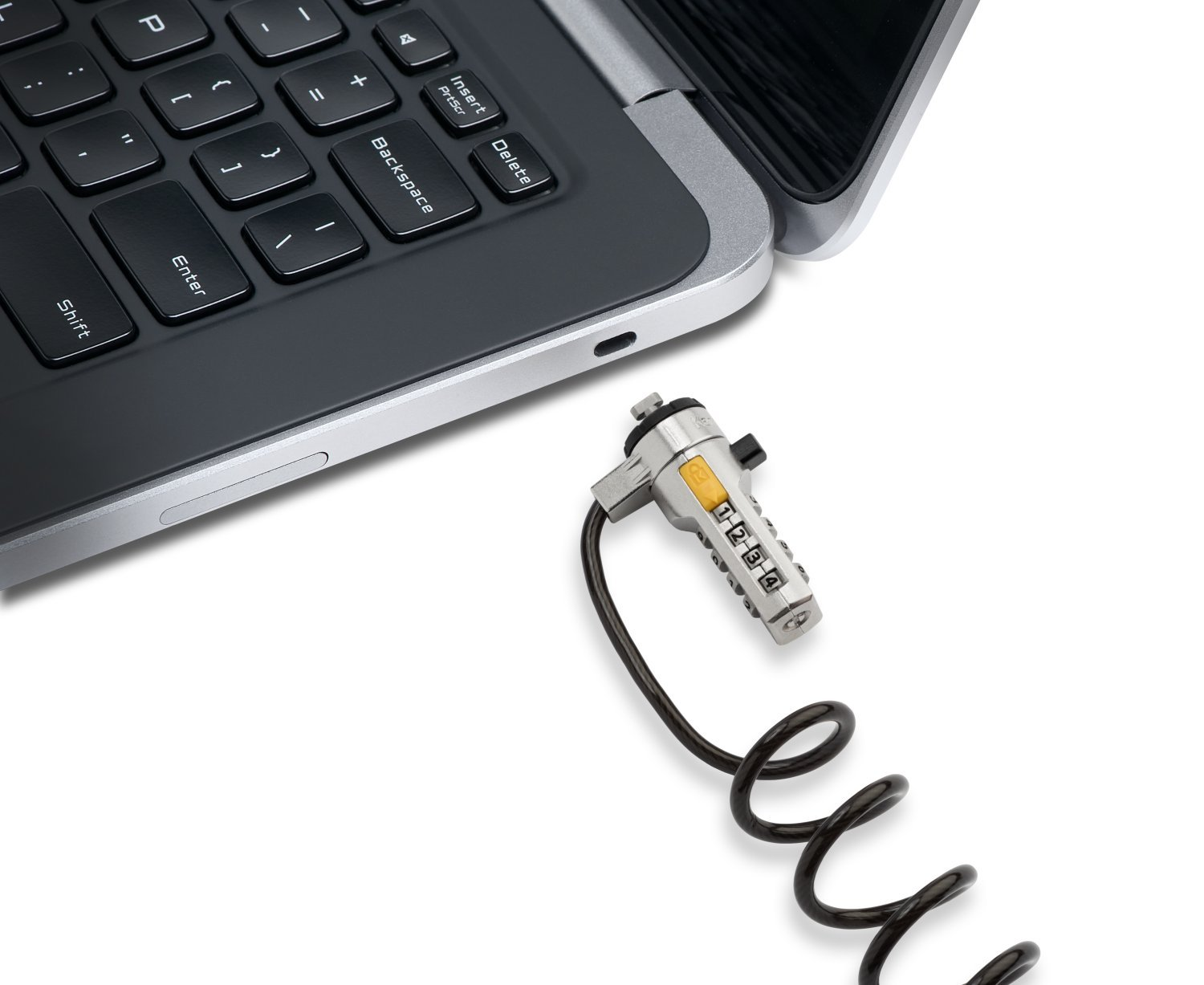Kensington Portable Combination Cable Lock for Laptops and Other Devices - Black (K64670AM) by Kensington (Image #6)