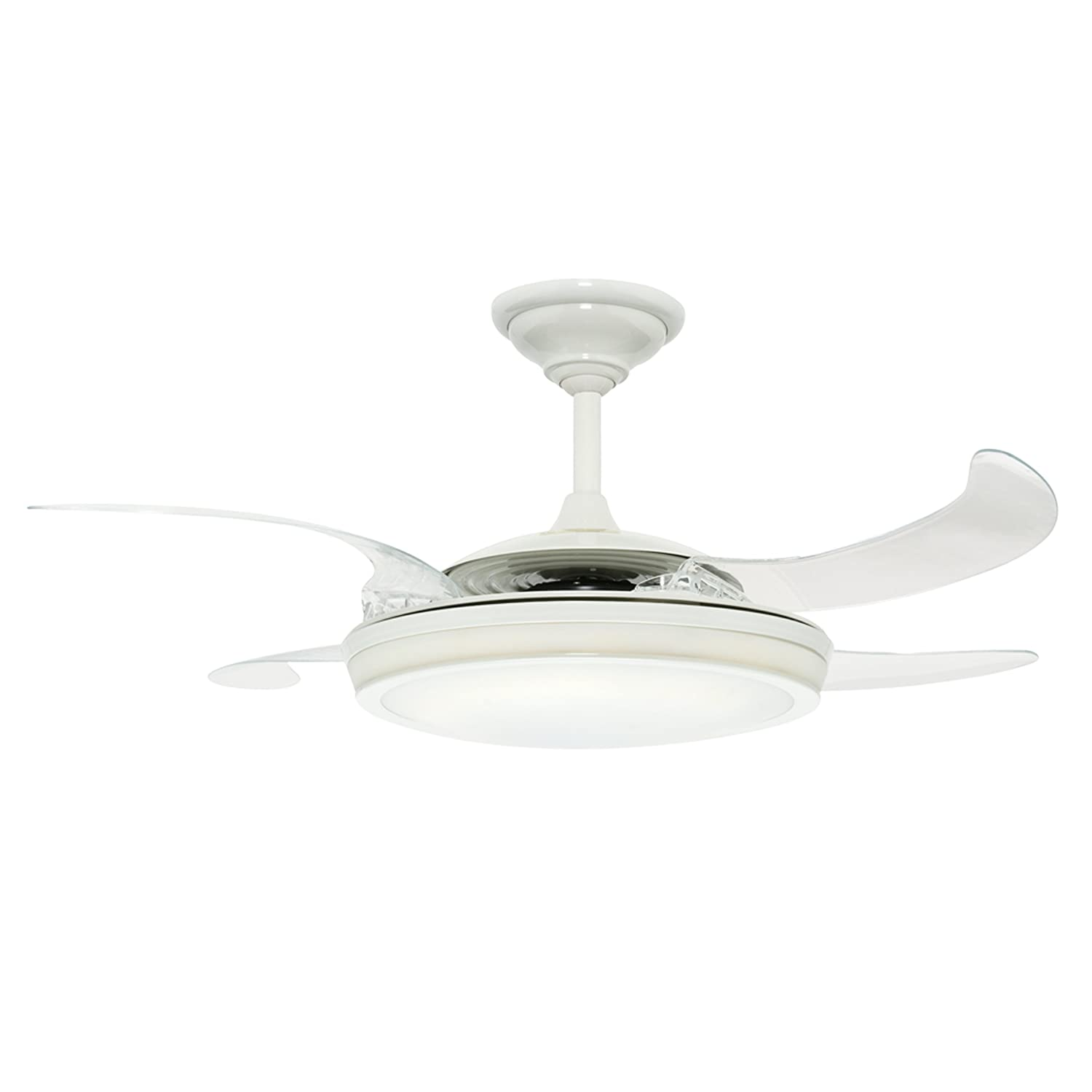 Hunter Fanaway 48 Inch Ceiling Fan White with Clear